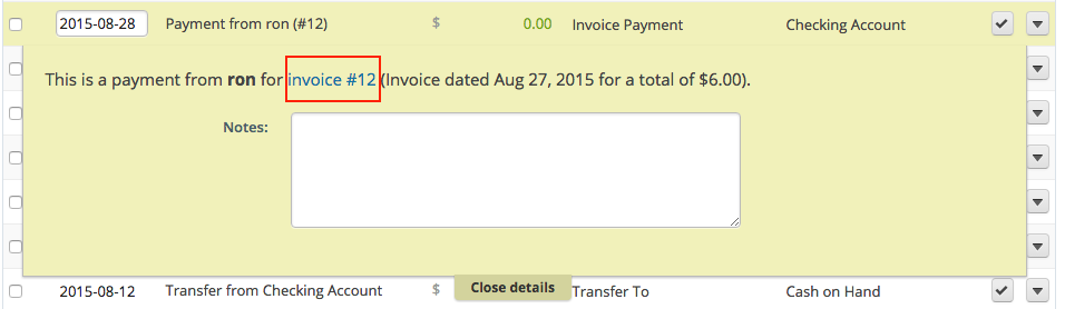 How To Edit Transfers Payments And Journal Transactions Help Center
